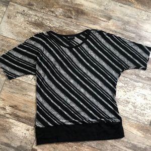 AB Studio size medium short sleeved top